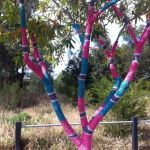 Guerilla knitting take Melbourne by storm